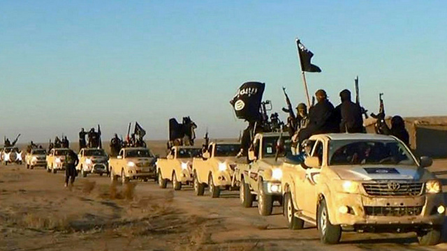 Islamic State fighters in Syria (Photo: AP)