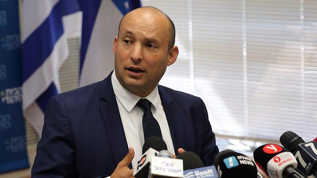 Minister Bennett. 'Anti-Semitism is the dangerous fuel that has forever inflamed our enemies' (Photo: Motti Kimchi)