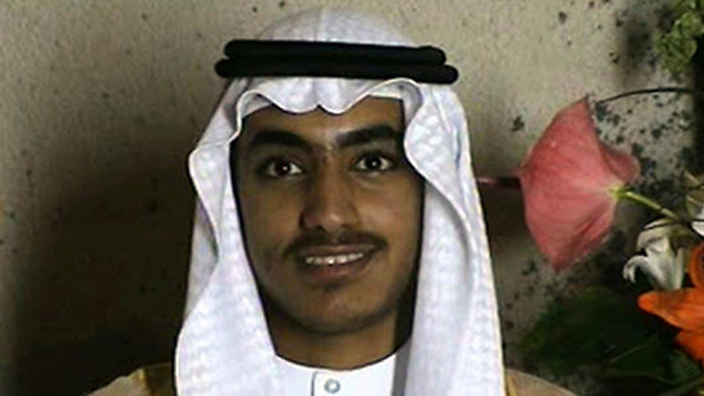 Hamza bin Laden (Photo: AP)