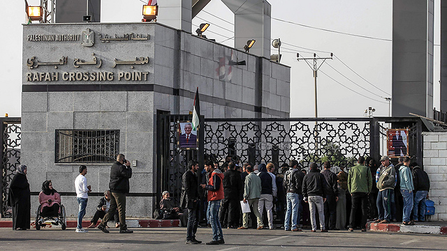 Rafah crossing between Egypt and the Gaza Strip (Photo: AFP)