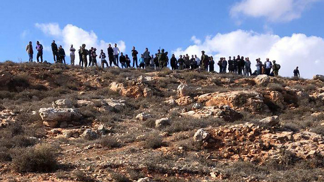 Clashes between Palestinians and settlers