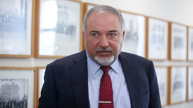 Lieberman. 'I have never seen a protest in Wadi Ara with a single Israeli flag' (Photo: AFP)