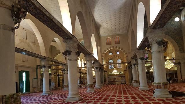 The Al-Aqsa Mosque. The codeword uniting the ranks in the Palestinian society