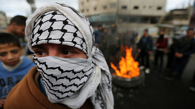 Protests in Gaza against Trump's declaration (Photo: Reuters)
