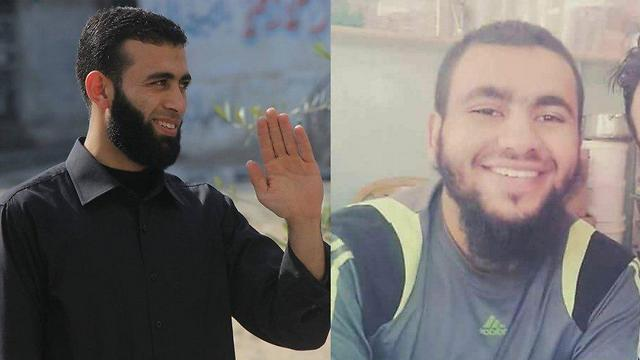 The two militants who were killed in the bombing