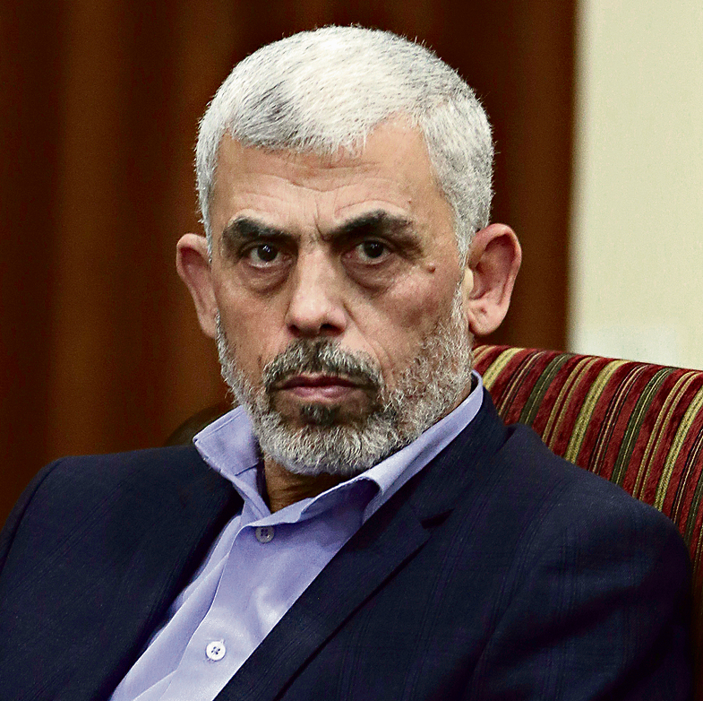 Hamas leader in Gaza, Yahya Sinwar. A failure of the reconciliation process and the loss of security assets may push him into a corner  (Photo: AP)