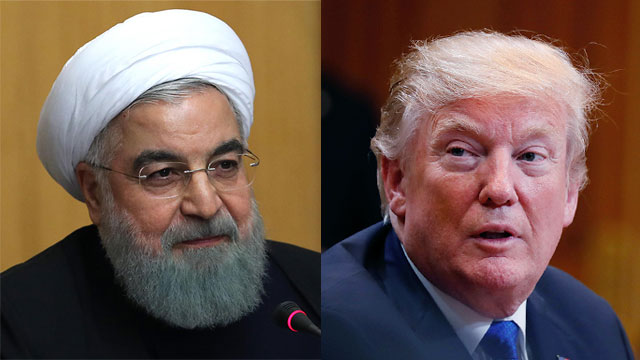 Rouhani (L) and Trump (Photo: AFP, Getty Images)