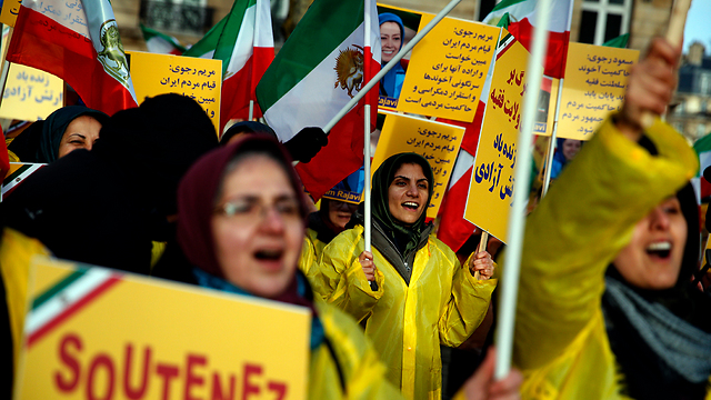 Iranian anti-regime protests. Iran is strapped for cash as it is, leading to widespread protests (Photo: AP)