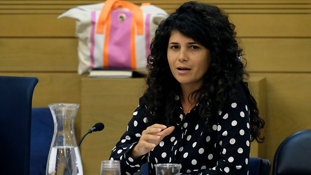 MK Sharren Haskel is the most famous of the Statesmanship College and is close to the Kohelet Policy Forum, both recipients of Tikvah Fund donations (Photo: Yoav Dudkevitch)