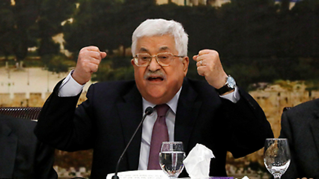 Abbas. The Palestinians can no longer take comfort in the rumors that Trump has no real plan (Photo: Reuters)