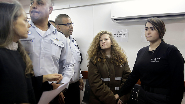 Ahed Tamimi in court (Photo: AP)
