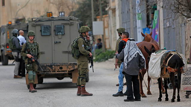 IDF searches in Palestinian village of Kifl Haris