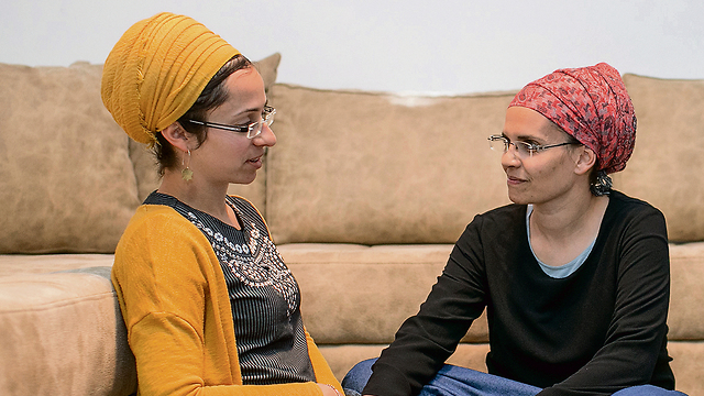 Miriam Ben Gal (L) and Yael Shevah. 'How do you keep living and how do you grow from here?'  (Photo: Ohad Zwigenberg)