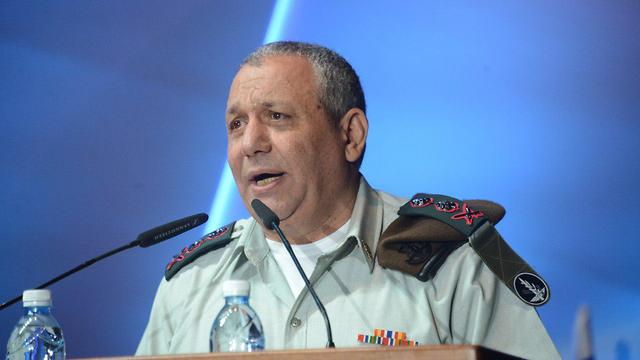 Eisenkot says sharpshooters called up from all of the military's units, primarily from the special forces (Photo: Yair Sagi)