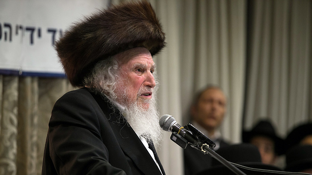 Rabbi Shmuel Auerbach (Photo: Ohad Zwigenberg)