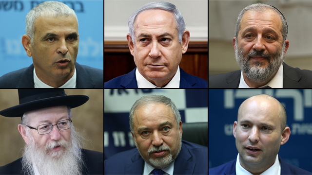 A coalition crisis has hit PM Netanyahu's government (Photo: Ohad Zwigenberg, Alex Kolomoisky and Reuters)