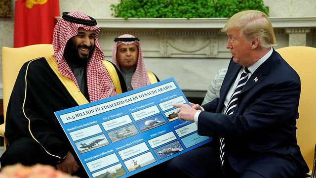 Crown Prince Mohammed bin Salman with US President Donald Trump (Photo: Reuters)