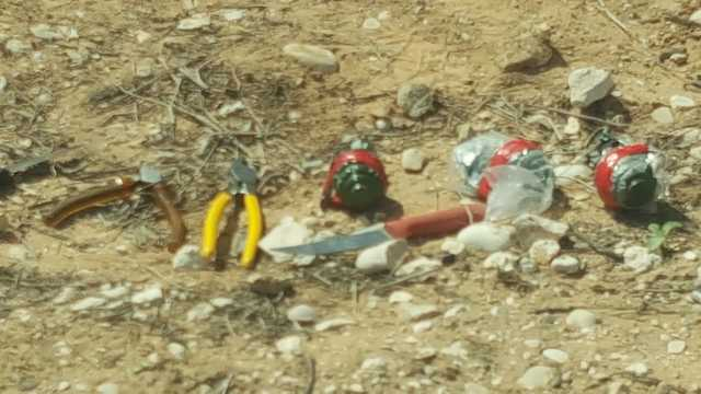 Terrorists were armed with knives and grenades (Photo: Police Spokesperson's Unit)