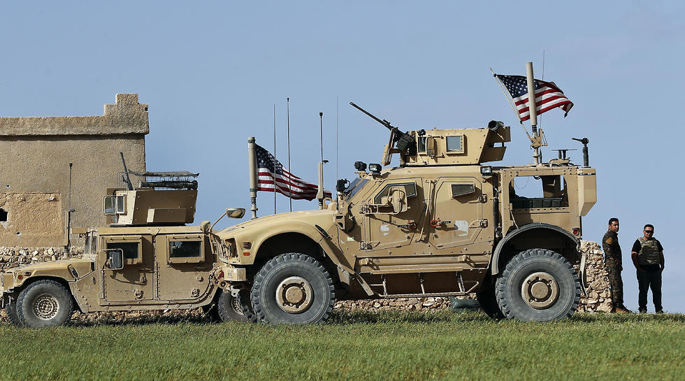 American troops in Syria (Photo: AP) (צילום: AP)