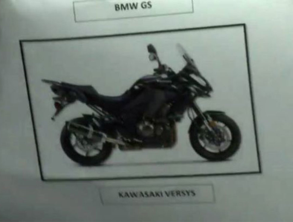 Picture of motorbike used by assassins