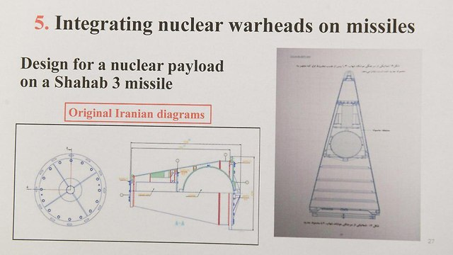 Diagrams from Iran's nuclear archive