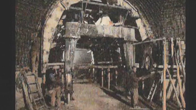 Photo from Iran's archive: Developing nuclear core