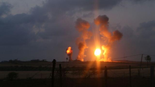 File photo. The IDF reportedly attacked in southern Gaza Saturday evening