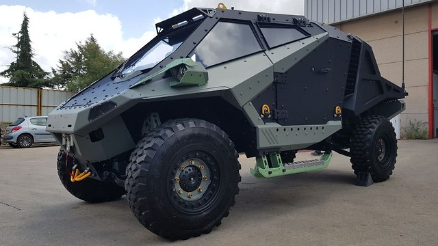 Carmor's Mantis APC will be unveiled at next month's Eurosatory trade show in Paris