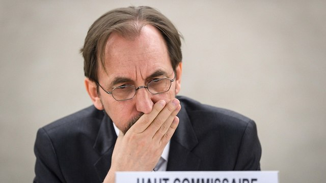 UN High Commissioner for Human Rights Zeid Ra'ad al-Hussein (Photo: AFP)