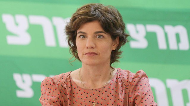 Meretz leader Tamar Zandberg (Photo: Amit Shabi)