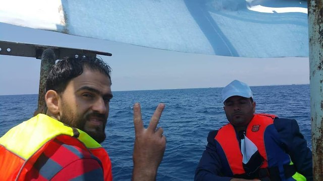 The flotilla's organizers said they were civilians who had every right to try and sail out of Gaza