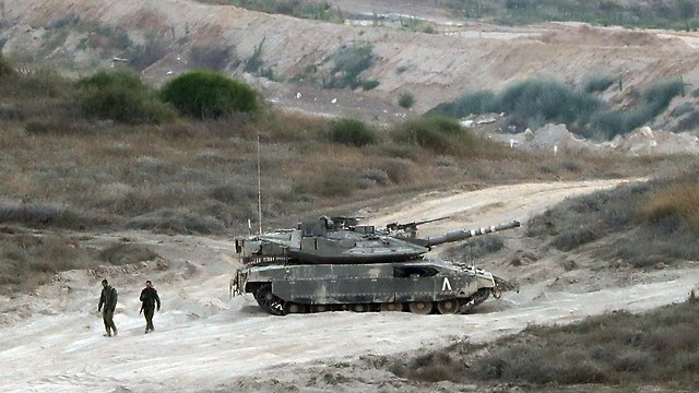 IDF forces near Gaza border (Photo: AFP)