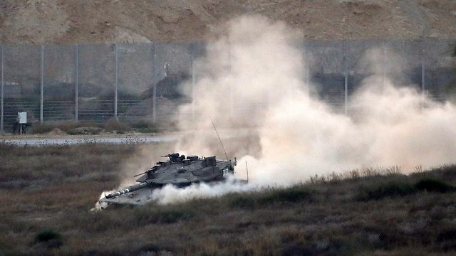 The IDF will make do with its regular forces for now, Manelis said (Photo: AFP)