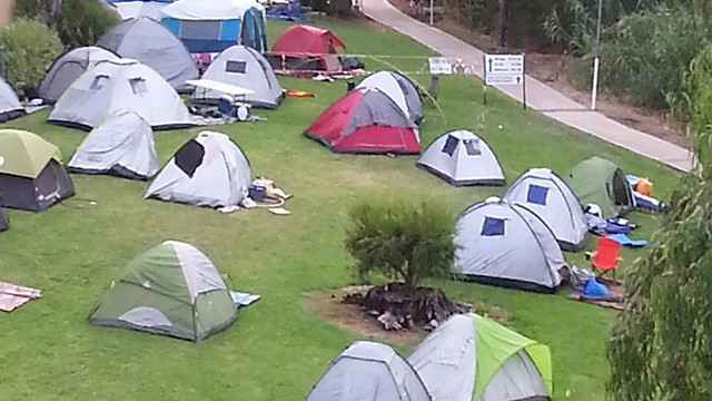 Camping at Jacob 's Ladder Music Festival