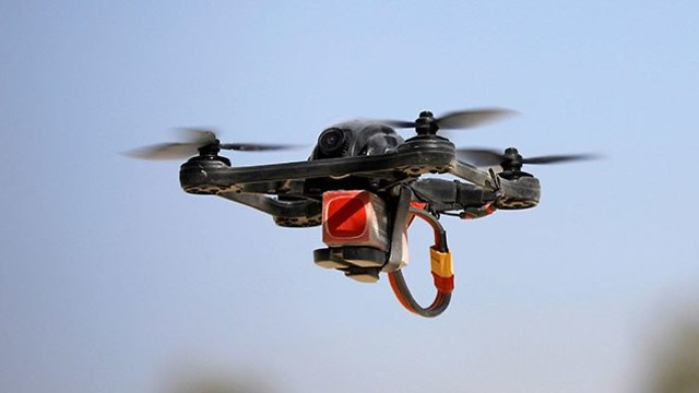 Drone used by IDF to fight incendiary balloons and kites (Photo: Reuters)