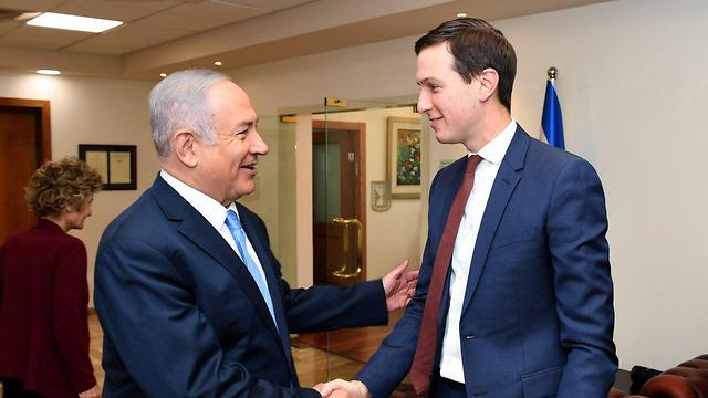 Jared Kushner and PM Netnayhau (Photo: US Embassy)