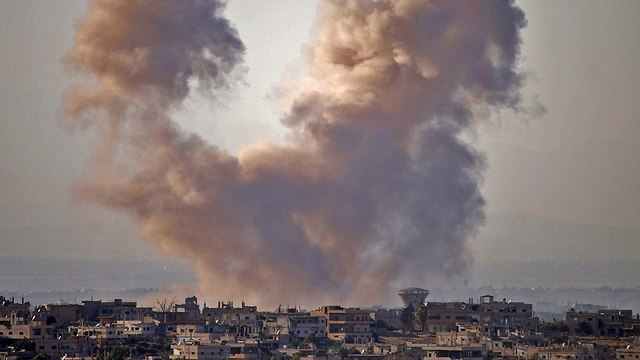 Another day of fighting in Daraa  (Photo: AFP)