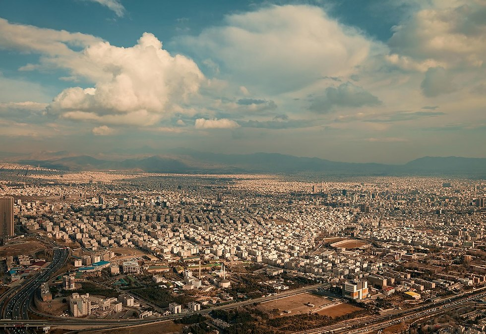 Clouds over Tehran (Photo: Shutterstock)