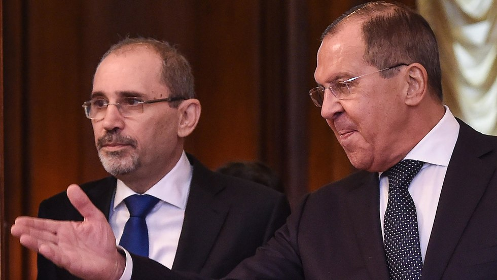 Russia Foreign Minister Lavrov meets with Jordan Foreign Minister Ayman Safadi (Photo: AFP)