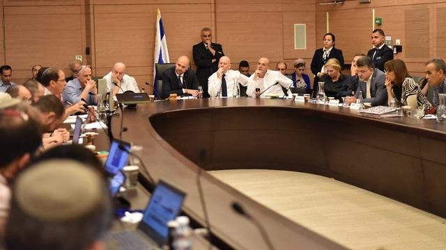 Joint Committee of the Nationality Bill  (Photo: Yoav Dudkevitch )