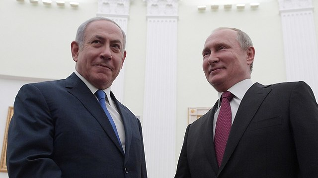 PM Benjamin Netanyahu and Russian President Vladimir Putin (Photo: EPA)