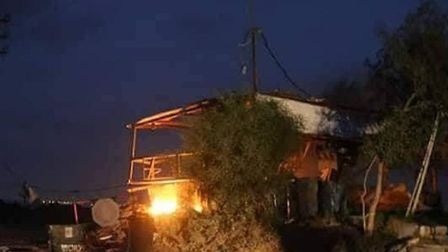 Hamas post attacked by IDF