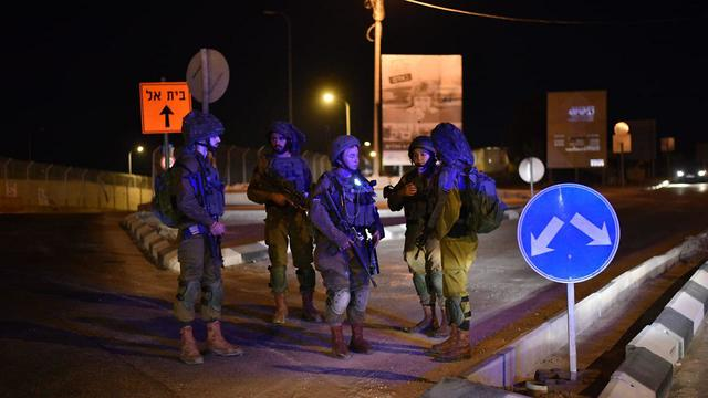IDF forces called to the scene