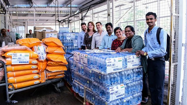 Israeli aid India (Photo: Foreign Ministry)