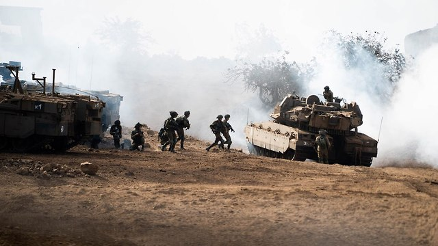 Golani training for combat against Hezbollah terrorists (Photo: IDF Spokesperson's Unit)