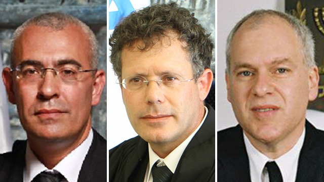 Supreme Court Justices Uzi Fogelman, Isaac Amit, and Ofer Grosskopf. (Photo: Supreme Court website)