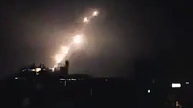 IDF attacks Iranian targets in Syria  (Photo: IDF Spokesperson's Unit)