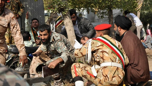 Attack on a military parade in Iran (Photo: AP)