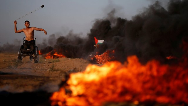Gaza protests (Photo: Reuters)