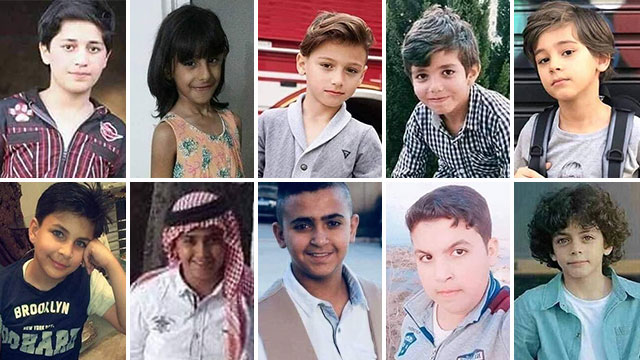 Victims of Dead Sea floods